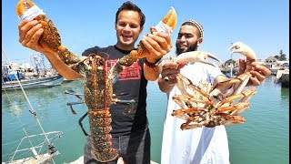 Download WOWWW!! Mega Seafood and BBQ CAMEL in Morocco! INSANE Street Food and Seafood Market Tour! Video