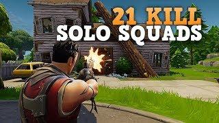 Download 21 KILL SOLO SQUAD WIN! (PS4 Pro) Fortnite Battle Royale Video