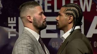Download David Haye and Tony Bellew both head to heads in Liverpool Video