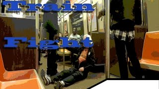 Download Aftermath: A Bum and Drunk meets on a NYC train Video