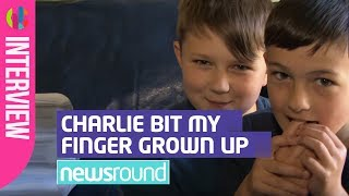 Download 'Charlie Bit My Finger' boys grow up! - CBBC Newsround Video