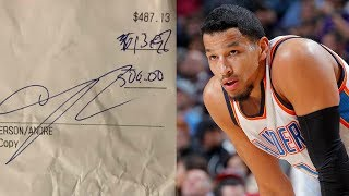 Download Andre Roberson BLASTED for Leaving Cheap Tip on $500 Bill, Responds to Bartender Video