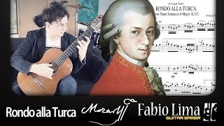 Download W. A. Mozart - Rondo alla Turca (Turkish March) by Fabio Lima Video