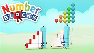 Download Numberblocks 14 & 15 | New Numberblocks Collection | Learn Counting Video