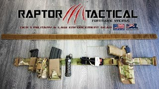 Download Raptor Tactical Odin III Belt Review & Belt Kit Video