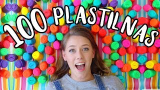 Download 100 PLASTILINAS HECHAS UNA ESCULTURA! Video