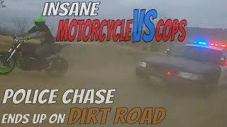 Download Police Chase BIKERS From HIGHWAY To DIRT ROAD Motorcycle VS Cops Running From The Cops 2018 Video
