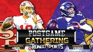 Download San Francisco 49ers vs Minnesota Vikings NFL 2018 Week 1 Postgame Gathering Video