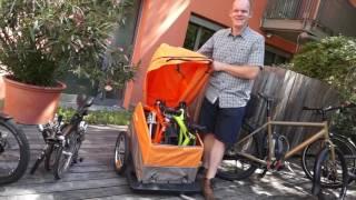 Download Fahrrad-Trends 2017 - vom Lastenrad zur Packtasche - 2017 boomt das Cargorad Video