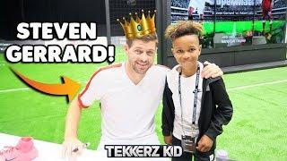 Download STEVEN GERRARD!!   Tekkerz Kid LG Challenge VS Romello!! Video