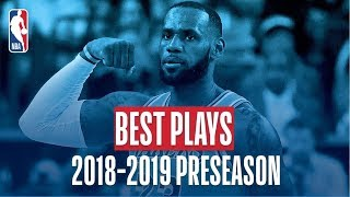 Download The Best Plays of the 2018-2019 NBA Preseason Video