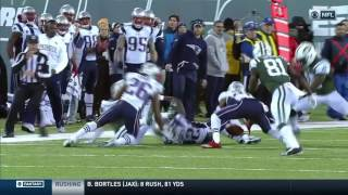 Download Malcolm Butler's Forced Fumble & Recovery Leads to Tom Brady's TD Pass! | Pats vs. Jets | NFL Video