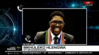 Download lFP's Mkhuleko Hlengwa reacts to calls to probe PP''s office Video