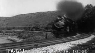 Download Steam Locomotives In Action on the Baltimore & Ohio, 1954 Video