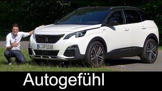 Download Peugeot 3008 GT-Line FULL REVIEW 165hp petrol test 2018 - Autogefühl Video