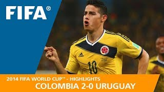 Download COLOMBIA v URUGUAY (2:0) - 2014 FIFA World Cup™ Video