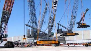 Download Kranmobile mit dem Liebherr LR 13000 - Crawler Crane Mobile With Liebherr LR 13000 Video