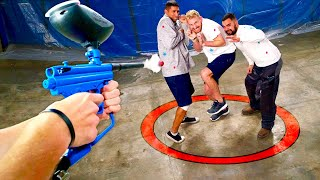 Download Paintball Firing Squad!! | Last to leave circle wins Nintendo switch!! Video