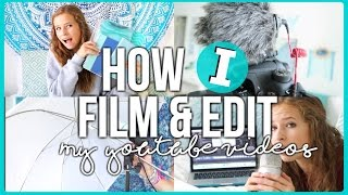 Download How I Film and Edit my Youtube Videos 2016! + Giveaway! Video