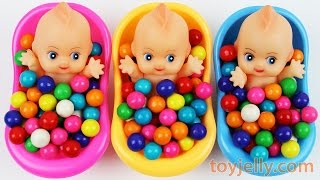 Download Learn Colors Bubble Gum Baby Doll Bath Time Nursery Rhymes Finger Family Song For Children Video