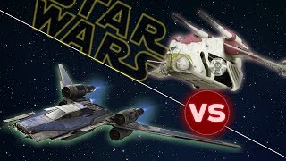 Download Rebel U-Wing vs LAAT Republic Gunship | Star Wars: Who Would Win Video