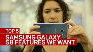 Download Samsung Galaxy S8: Top 5 features we want to see (CNET Top 5) Video