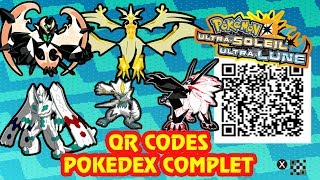 New Qr Codes Pokemon Ultra Moon - doraemon