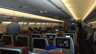 Download Turkish Airlines Airbus A330-300 Long-Haul Economy Class Flight Review + Important Announcement Video