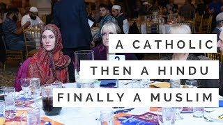 Download From Catholicism, then to Hinduism and finally to Islam. An amazing journey of an American lady Video