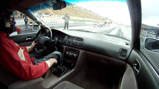 Download In Car Cam - Honda Accord Drag Race - Second Pass Video