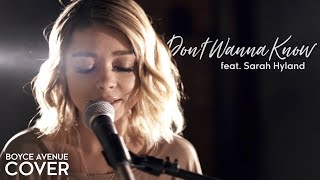 Download Don't Wanna Know - Maroon 5 (Boyce Avenue ft. Sarah Hyland cover) on Spotify & iTunes Video
