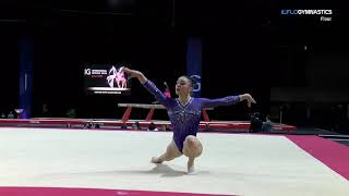Download Irina Alexeeva, WOGA - Floor (1st Place) - 2018 International Gymnix Video
