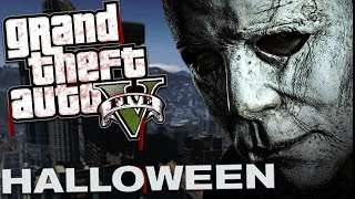 Download THE NEW HALLOWEEN MOVIE MOD w/ MICHAEL MYERS (GTA 5 Mods Gameplay) Video