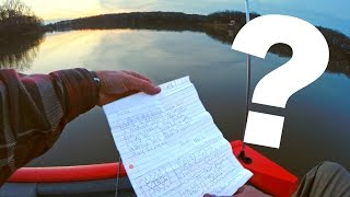 Download I Caught a Giant Bass then found a MESSAGE In A BOTTLE?! Video