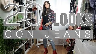 Download Moda | 20 looks con jeans: pitillos, boyfriend, mom jeans... Video