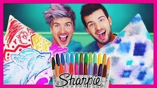 Download SHARPIE TIE-DYE (PINTEREST DIY TEST!) Video