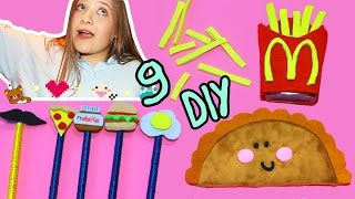 Download 9 DIY Для Школы Пенал Чебурек, Картошка Фри - Подставка Для Ручек :) Video