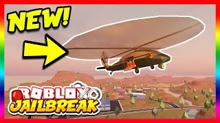 Download Roblox Jailbreak NEW MILITARY HELICOPTER! NEW UPDATE COUNTDOWN! | 🔴 Roblox Jailbreak Live Video