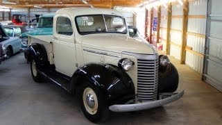 Download 1940 Chevrolet Pickup 216 Inline Six - Nicely Restored Video