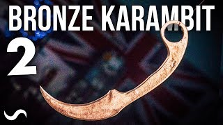 Download CASTING A BRONZE KARAMBIT! PART 2 Video