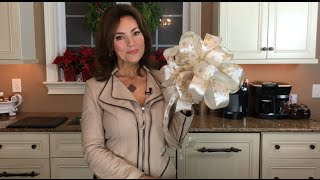Download How to Make a Christmas Bow with Lisa Robertson Video