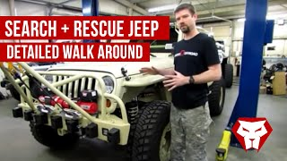 Download Search and Rescue Jeep Detailed Walk Around Video