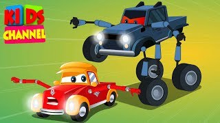 Download Super Car Royce | the super Villain | cartoon cars | Episode 2 Video