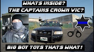 Download Whats Inside The Captains Ford Crown Victoria Police Interceptor? Video