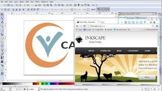 Download Creating a logo in Inkscape in 15 minutes Video