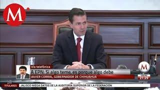 Download Peña presentó recurso porque teme por su futuro: Javier Corral Video