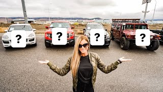 Download BUYING MY WIFE A NEW CAR! WHAT SHOULD SHE GET? Video