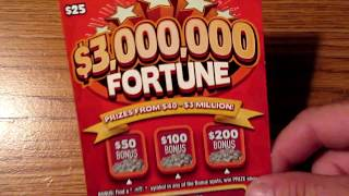 Download SOMETHING TOLD ME TO BUY IT!!..$3,000,000 FORTUNE LOTTERY TICKET SCRATCH OFF!! Video
