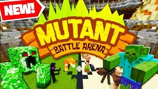 Download *NEW* MINECRAFT MODDED MUTANT BATTLE ARENA TOWER DEFENSE - MUTANT INDUSTRIES MOD | JeromeASF Video