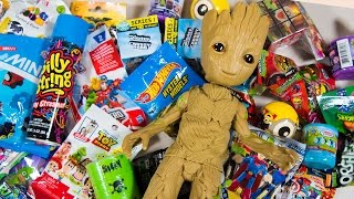Download HUGE Baby Groot Surprise Toy Opening Guardians of the Galaxy Toys for Boys Superhero Kinder Playtime Video